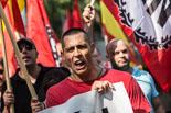Manifestació feixista a Barcelona
