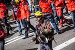 Manifestació de Bombers en lluita