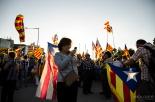 Concentració independentista #encerclemPedralbes