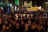 Manifestació per reclamar una nova vaga general