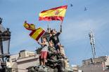 12-O: manifestació a la plaça Catalunya de Barcelona