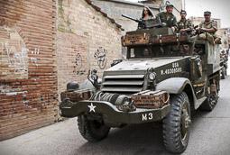 Recreació històrica de la Segona Guerra Mundial a Torrebesses