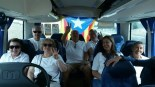 Via Lliure Ponent Molts lleidatans s'han desplaçat en autocars a la capital catalana