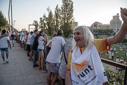 Diada Nacional 2016: manifestació a Lleida