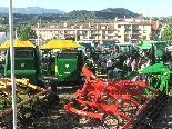 Fira de Sant Isidre 2011 La maquinària agrícola omplia el Camp del Serra