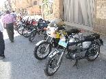 Fira de Sant Isidre 2011 VIII TROBADA de motos antigues i clàssiques ciutat de Solsona