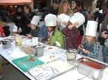 Fira del Trumfo i de la Tòfona 2011 Taller infantil de petits cuiners trumfaires