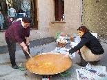 Fira del Trumfo i de la Tòfona 2011 Preparant la paella