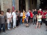 Rebuda de la Flama del Canigó a Solsona, 2011