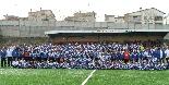 Presentació CF Solsona 2010-11 Foto de grup de tots els equips