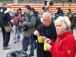 13D a Osona A Folgueroles s'ha començat la jornada amb una Xocolatada popular. Foto: Lurdes López