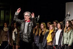 9-N: Acte final de campanya pel «sí-sí» a Vic