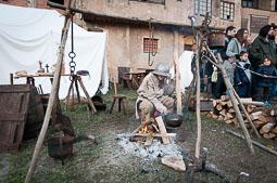 Mercat Medieval de Vic 2014: campament de setge