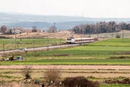 El Talgo a la línia Barcelona-Ripoll-Puigcerdà