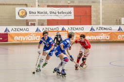 Final a 4 de la Copa d'Europa d'hoquei patins femenina a Manlleu