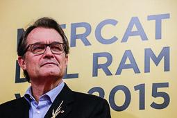 Polítics al Mercat del Ram 2015