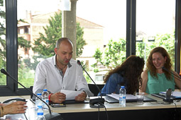 Ple de constitució de l'Ajuntament de Prats de Lluçanès