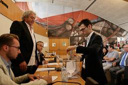 Ple de constitució del Consell Comarcal d'Osona