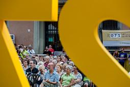 «Via lliure al Món», tercer acte de la campanya d'estiu de l'ANC