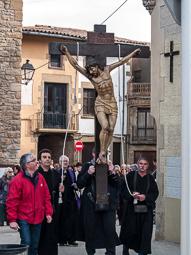 Processó del Mont-i-calvari a Sant Julià de Vilatorta, 2016