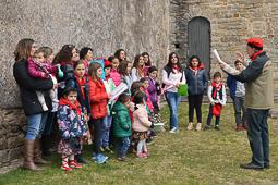 Cantada de caramelles a Sant Boi de Lluçanès, 2016