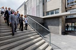 Inauguració de l'Institut Les Margues de Calldetenes