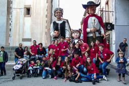 Trobada de gegants de Prats de Lluçanès, 2016