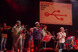 Mercat de Música Viva de Vic, 2016 (III) The Gramophone Allstars Big Band.