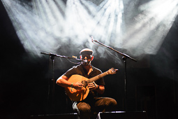 Mercat de Música Viva de Vic, 2016 (II) Frankie Chavez.