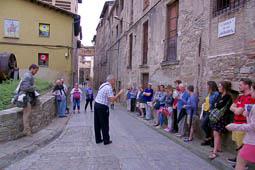 «La pell del riu», visita dramatitzada al barri de les Adoberies