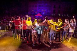 Festa Major de Vic 2017: concert de La Pegatina