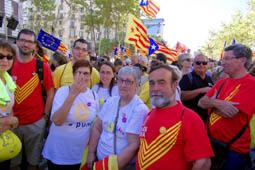 Diada Nacional 2017: Osonencs a la manifestació de Barcelona