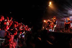 Txarango en concert per Càrnies en lluita