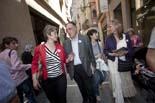 Municipals 2011: ambient electoral als mercats de Manlleu i Vic