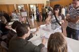 Municipals 2011: jornada electoral a Osona Jornada electoral a Can Costa i Font, Taradell. Foto: Adrià Costa