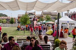 30è aniversari d'en Pàmfil i l'Elisenda, els gegants de Sant Julià de Vilatorta