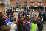 Activitats per la Marató de TV3 a Osona Gimcana blanca per la Marató a Sant Quirze de Besora. Foto: Josep Maria Costa