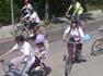 «Tots junts, pedalem per l'educació» a Tona