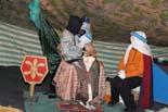 El campament dels Reis d'Orient s'instal•la a Vic