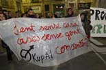 Protesta contra els desnonaments