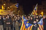 Concentració a Vic en suport de la Declaració de Sobirania