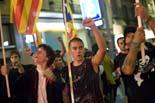Diada Nacional 2010 a Vic: manifestació de l'esquerra independentista