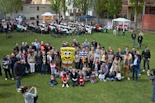 «Gran festa de família» de la PxC i protesta antifeixista a Vic