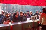 Dijous llarder a la plaça Major de Vic, 2012
