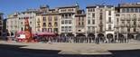 Dijous Llarder a la plaça Major de Vic, 2013