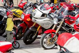 Ducatona 2014: trobada de Ducatis i Ferraris a Tona