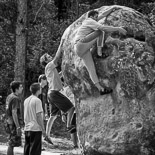 Boulder a Savassona