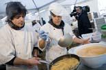 Esmorzar del Dijous Llarder a Vic, 2010