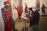 Mercat Medieval de Vic 2008: exposició d'armadures d'11 cavallers catalans