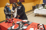Exposició de caganers i taules de Nadal a Sant Julià de Vilatorta